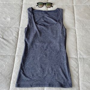 ✨ Gray Zara Fitted Tank Top in Small
